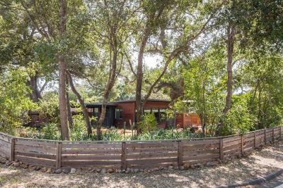 Ojai CA Single Family Home For Sale: $595,000