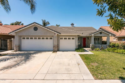 Oxnard Single Family Home For Sale: 635 Cornwall Drive
