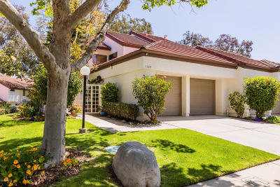 Camarillo Single Family Home For Sale: 1300 Calle Bonita