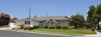 Ventura Single Family Home For Sale: 460 Bucknell Avenue