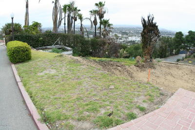 Ventura County Residential Lots & Land For Sale: 1866 Hillcrest Drive