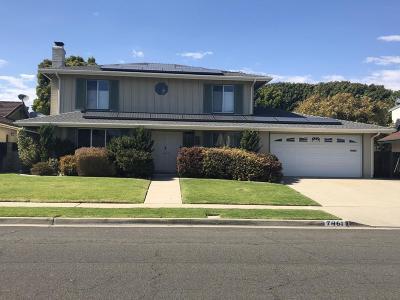 Ventura Single Family Home For Sale: 7461 Van Buren Street