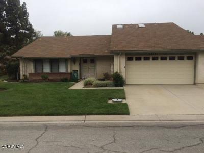 Camarillo Single Family Home Active Under Contract: 23131 Village 23