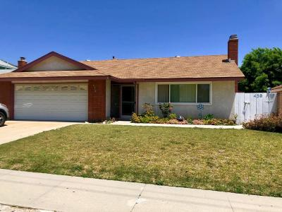 Fillmore Single Family Home Active Under Contract: 438 Mountain View Street