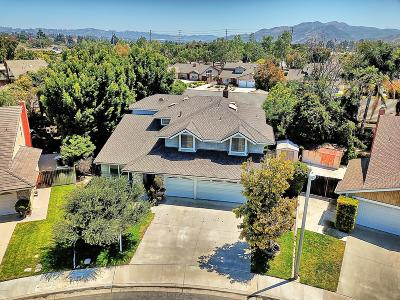 Camarillo Single Family Home Active Under Contract: 140 Appletree Avenue