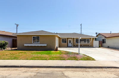 Oxnard Single Family Home Active Under Contract: 3120 S Street