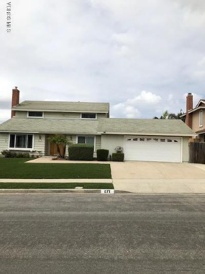 Camarillo Single Family Home For Sale: 171 Glenbrook Avenue
