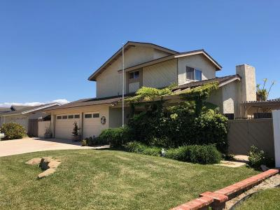 Camarillo Single Family Home For Sale: 2552 Dunnigan Street
