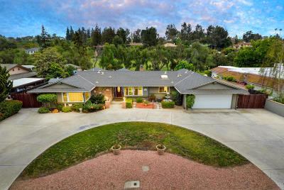 Camarillo Single Family Home For Sale: 1480 Fairway Drive