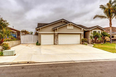 Ventura County Single Family Home For Sale: 1820 Camino Vera Cruz