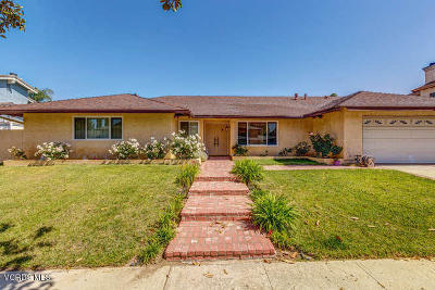 Simi Valley Single Family Home For Sale: 4295 Springfield Street