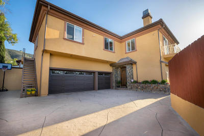 Newbury Park Single Family Home For Sale: 1176 Combs Road