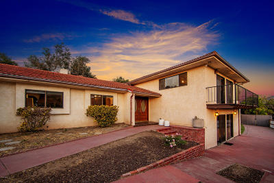 Ventura Single Family Home For Sale: 8257 Camp Chaffee Road