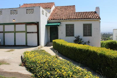 Santa Paula Single Family Home Active Under Contract: 633 Mill Street