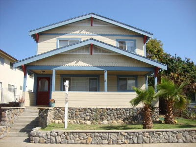 Santa Paula Multi Family Home For Sale: 719 E Pleasant Street