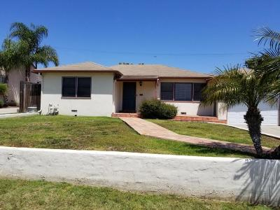 Ventura Single Family Home Active Under Contract: 144 Mills Road