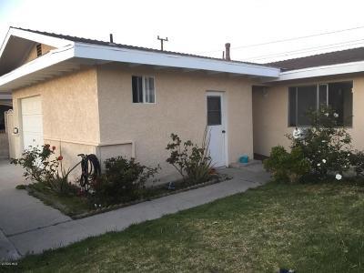 Oxnard Single Family Home For Sale: 142 Cordova Street