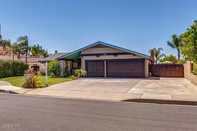 Camarillo Single Family Home For Sale: 562 Corte Colina