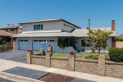 Ventura Single Family Home Active Under Contract: 336 San Diego Avenue