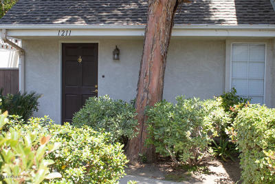 Ventura Single Family Home Active Under Contract: 1211 Osage Lane