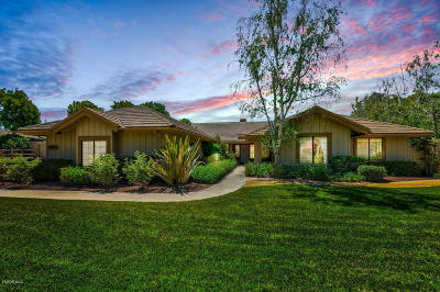 Camarillo Single Family Home Active Under Contract: 6408 San Ardo Court