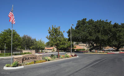 Thousand Oaks CA Single Family Home Active Under Contract: $295,000