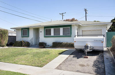 Ventura Single Family Home For Sale: 2667 E Preble Avenue
