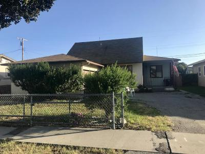 Ventura Single Family Home For Sale: 3240 Porter Lane