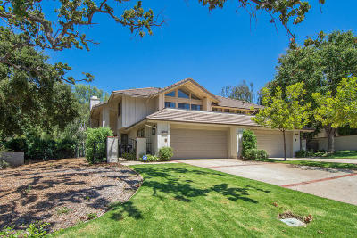 Westlake Village Single Family Home For Sale: 4193 Dan Wood Drive