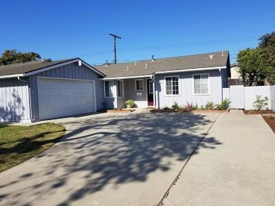 Ventura Single Family Home Active Under Contract: 174 S Ashwood Avenue