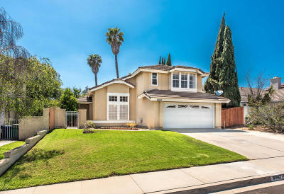 Camarillo Single Family Home For Sale: 6067 Fremont Circle