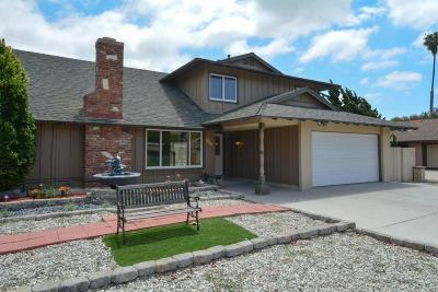 Oxnard Single Family Home For Sale: 2134 Jasmine Street