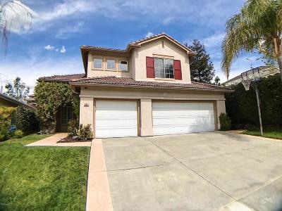 Thousand Oaks Single Family Home For Sale: 3341 Lang Ranch Parkway