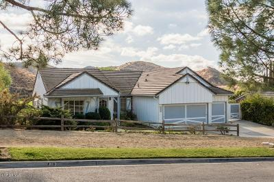 Simi Valley Single Family Home For Sale: 1904 Rocking Horse Drive
