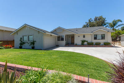Ventura County Single Family Home Active Under Contract: 129 Maria Lane