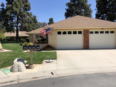 Camarillo Single Family Home For Sale: 13328 Village 13