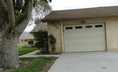 Camarillo Single Family Home Active Under Contract: 22208 Village 22