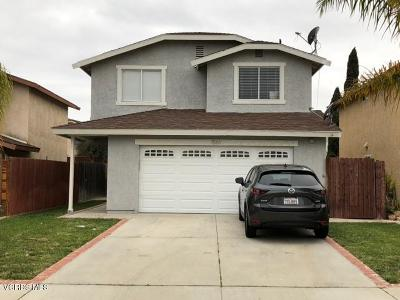 Ventura Single Family Home Active Under Contract: 1561 Pyramid Avenue