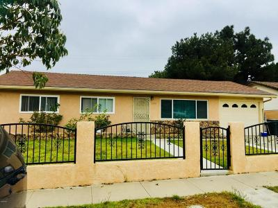 Ventura Single Family Home For Sale: 2993 Mohawk Avenue