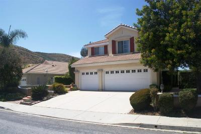 Simi Valley Single Family Home For Sale: 287 Cliffwood Drive