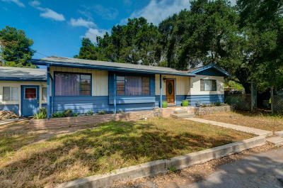 Ojai Single Family Home Active Under Contract: 603 Lion Street