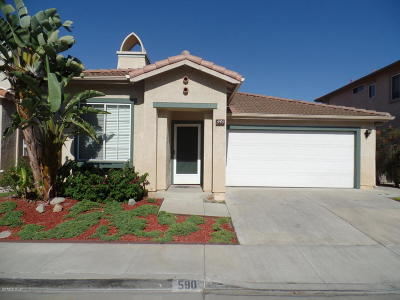 Camarillo Rental For Rent: 590 Avenida Magdalena