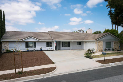 Thousand Oaks Single Family Home Active Under Contract: 877 Falmouth Street