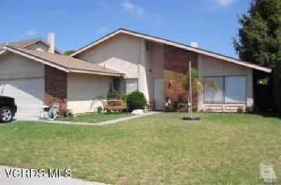 Oxnard CA Single Family Home Active Under Contract: $425,000