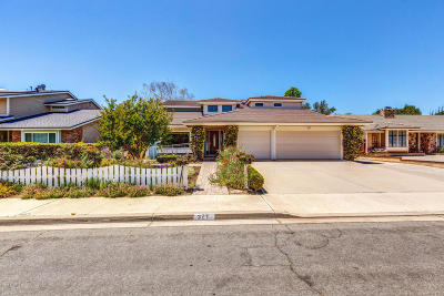 Camarillo Single Family Home For Sale: 327 Bent Twig Avenue