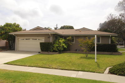 Ventura Single Family Home For Sale: 5648 S Bryn Mawr Street
