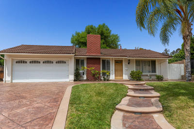 Newbury Park Single Family Home Active Under Contract: 615 Ashwood Court