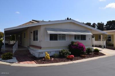 Camarillo Mobile Home Active Under Contract: 24 Tahquitz #223