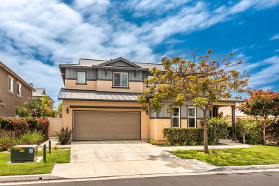 Port Hueneme Single Family Home Active Under Contract: 804 Waterway Lane