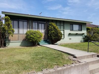 Ventura Single Family Home Active Under Contract: 800 Lemon Grove Avenue